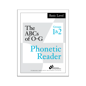 Basic Phonetic Reader Groups 1 & 2