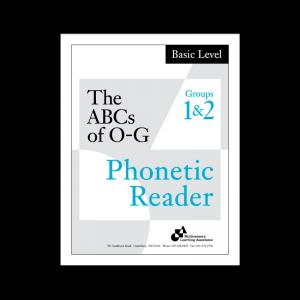 Basic Phonetic Reader Groups 1 & 2