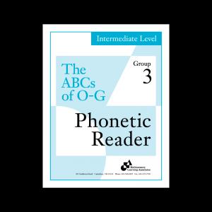 Intermediate Phonetic Reader Group 3