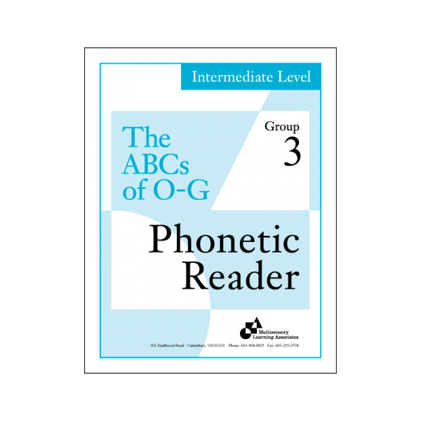 Intermediate Phonetic Reader Group 3
