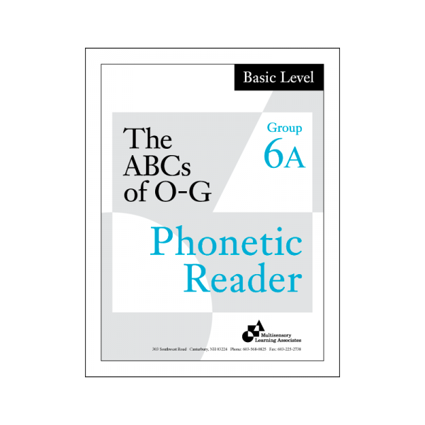 Basic Phonetic Reader Group 6