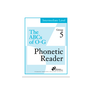 Intermediate Phonetic Reader Group 5