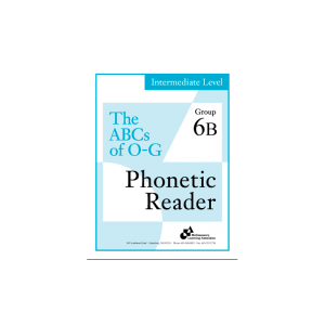 Intermediate Phonetic Reader Group 6B
