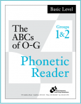 Basic Phonetic Reader Groups